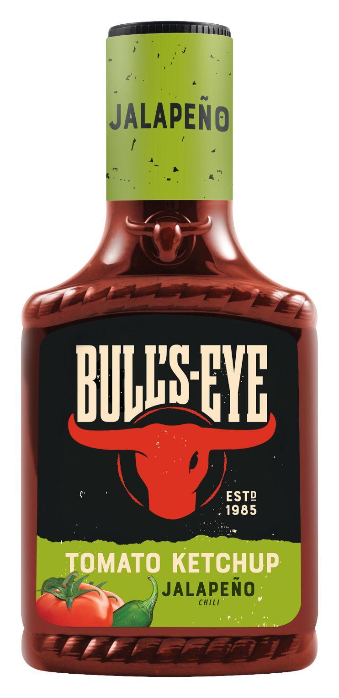 Bull's Eye Tomaten Ketchup Jalapeño Chili 425ml image