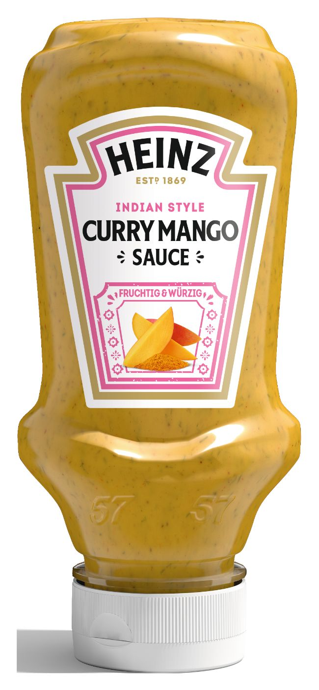 Heinz Curry Mango Sauce, Indian Style 220ml image