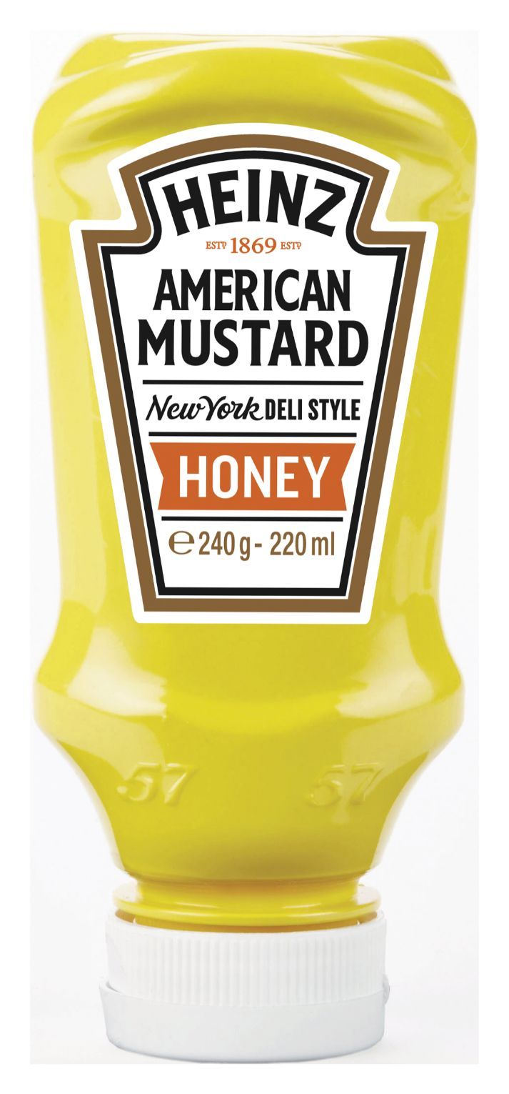 Heinz American Mustard Honey 220ml image