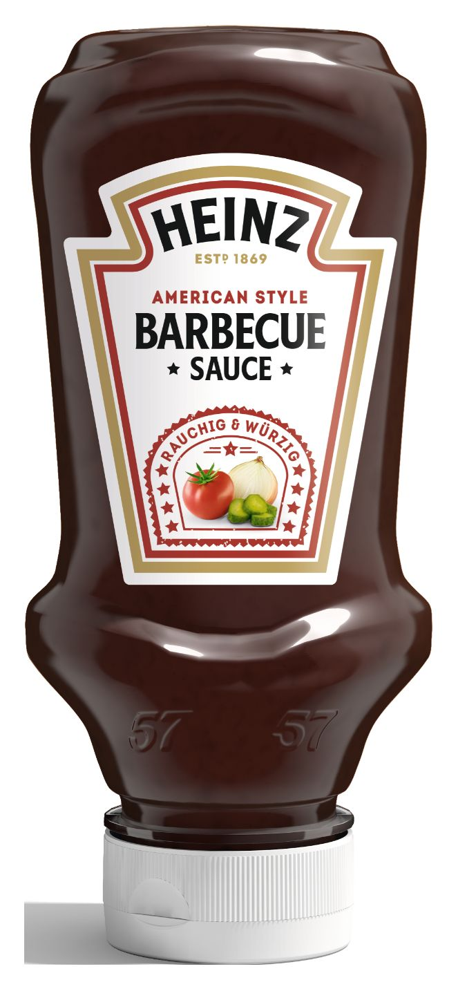 Heinz Barbecue Sauce, American Style 220ml image