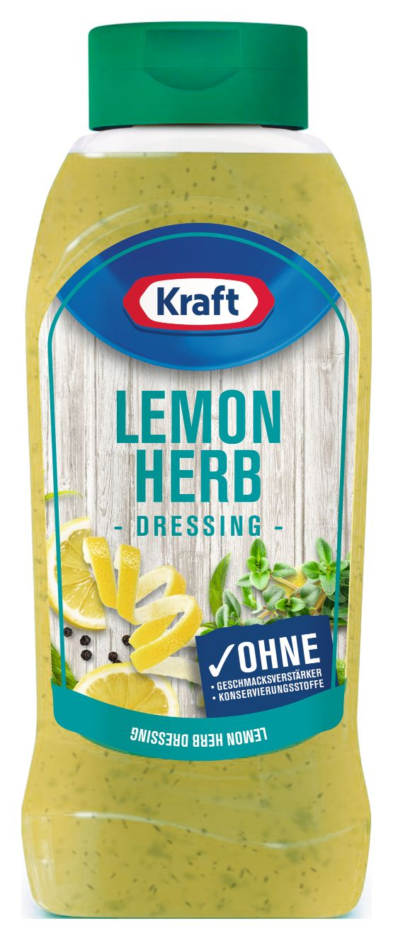 Kraft Lemon & Herb Dressing 800ml image