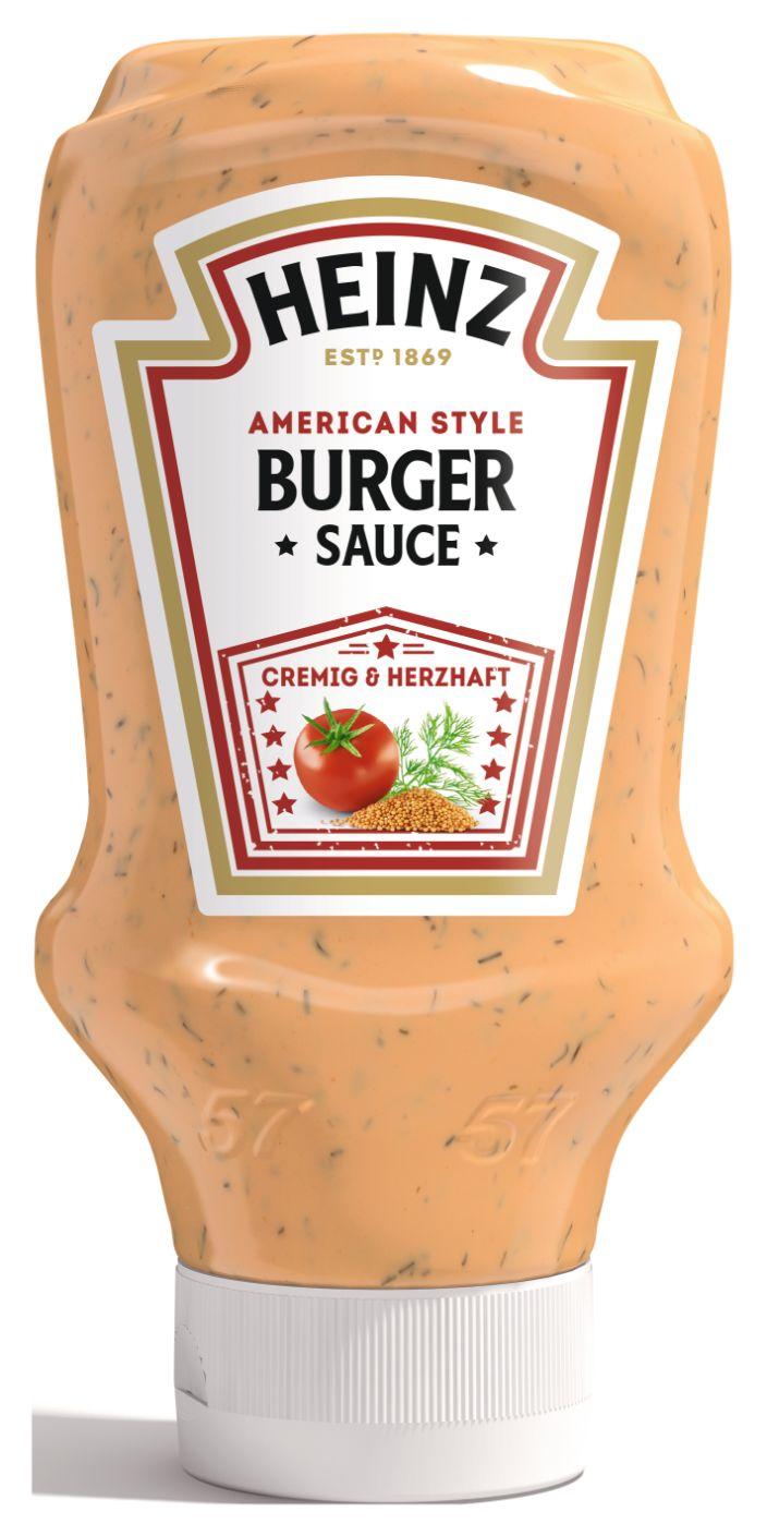 Heinz Burger Sauce, American Style 400ml image