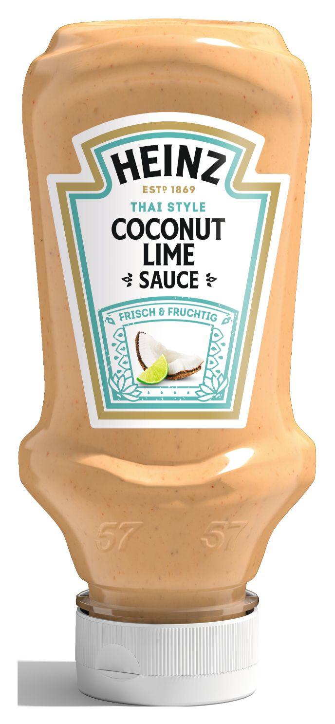 Heinz Coconut Lime Sauce, Thai Style 220ml image