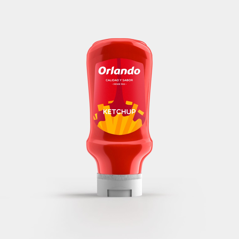 Orlando Tomato Ketchup 455g image