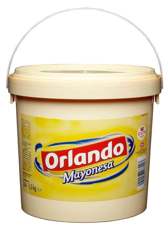 Orlando Mayonnaise 3.6L image