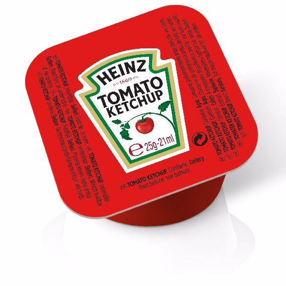 Heinz Tomato Ketchup 25g image