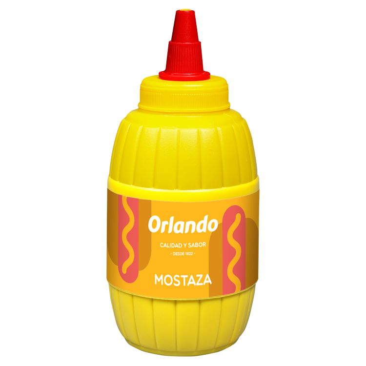 Orlando Mustard 290g image