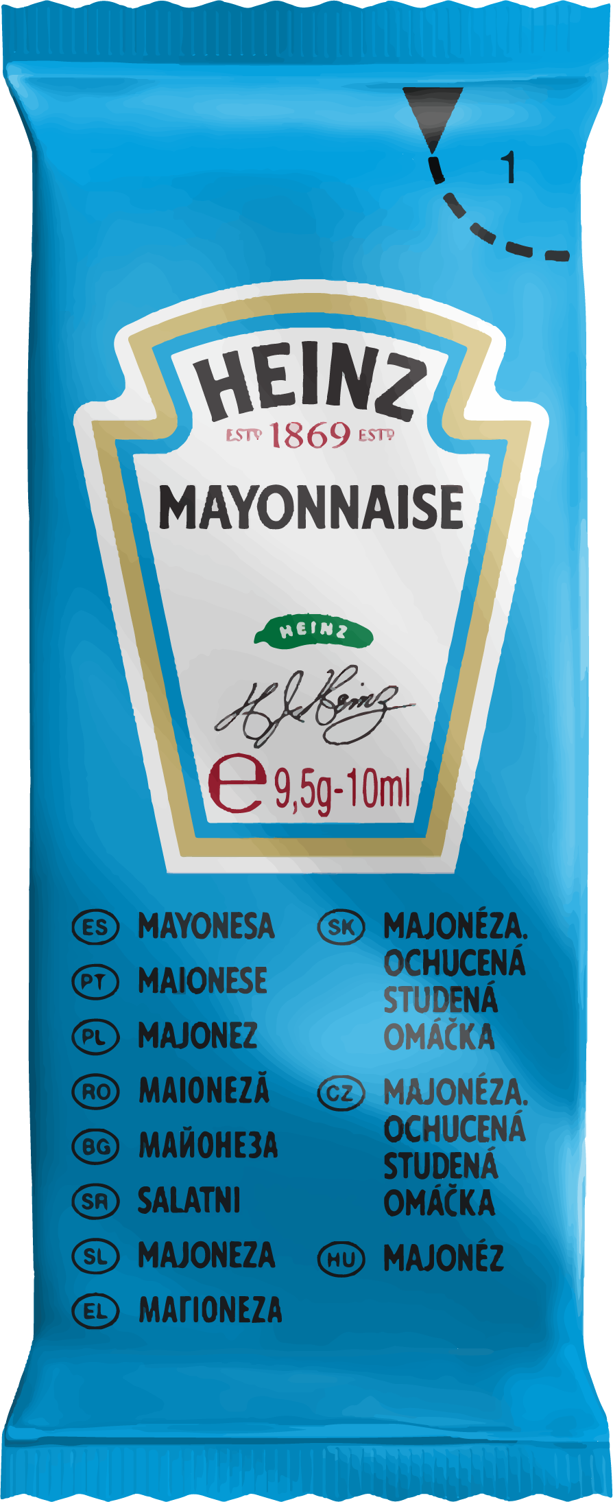Heinz Mayonnaise 10ml image
