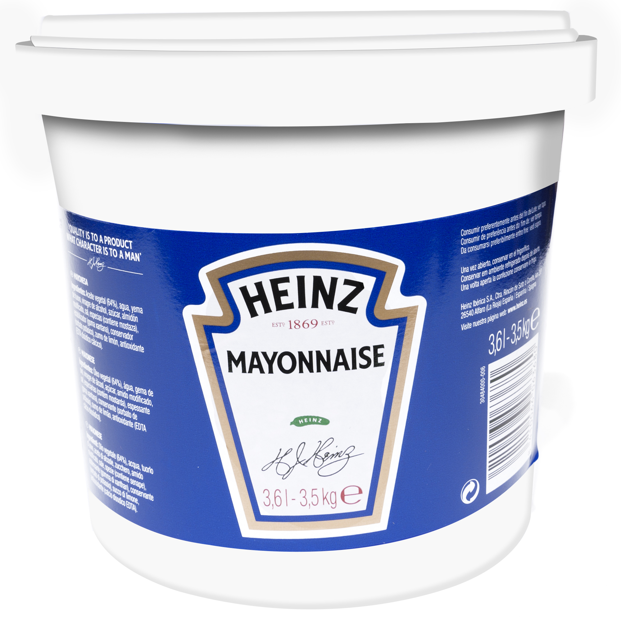Heinz Mayonnaise 3.6L image