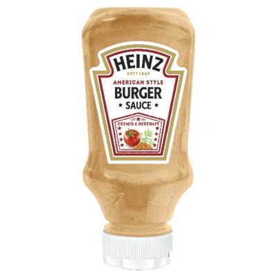 Heinz american burger 220ml image