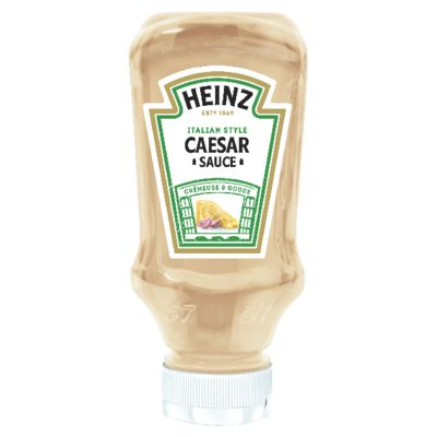 Heinz Caesar sauce 400ml Flacon Souple Top Down image