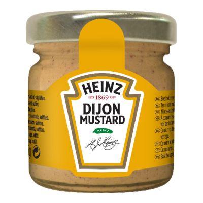Heinz Moutarde de Dijon 33ml Mini Pot Verre image