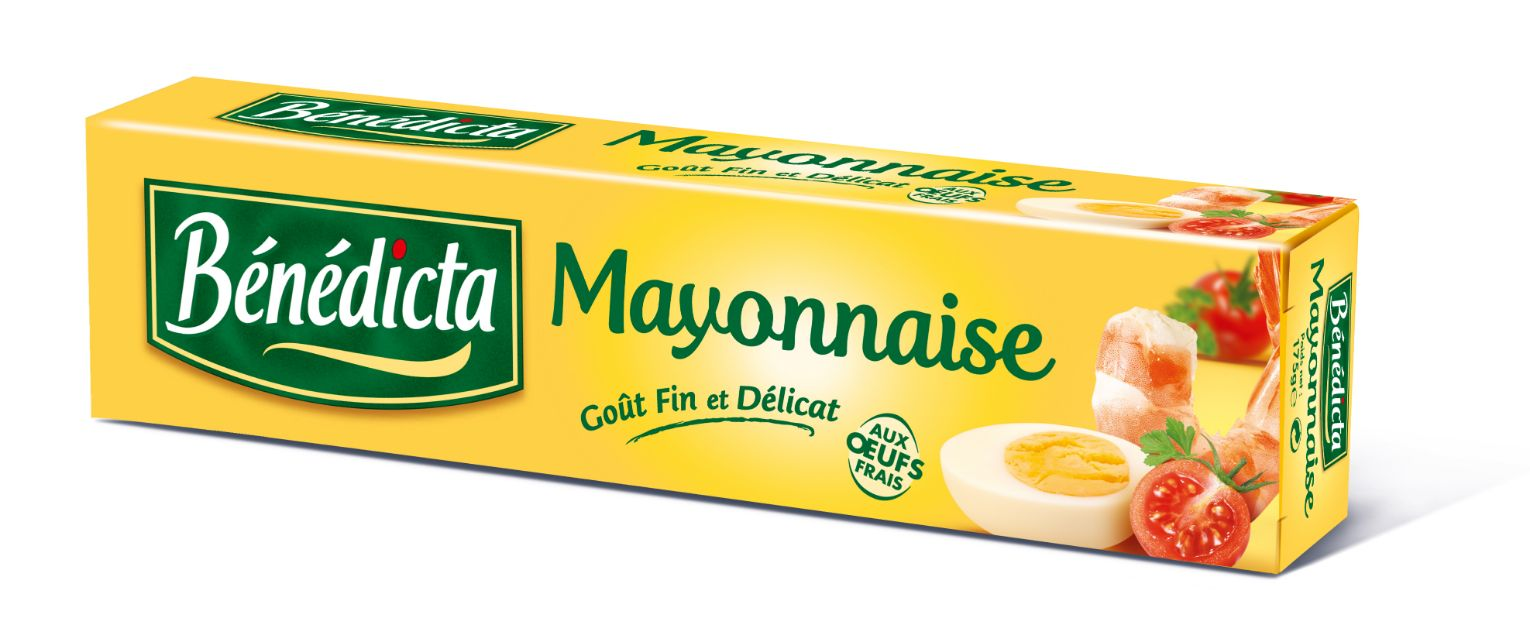 Bénédicta Mayonnaise Nature 175g Tube image