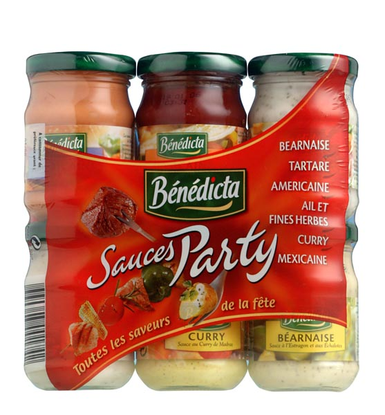 Bénédicta Sauces Party Mix image
