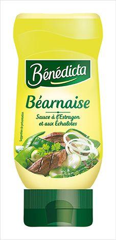 Bénédicta Sauce de variété Béarnaise 235g Flacon Souple image