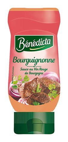 Bénédicta Sauce de variété Bourguignonne 235g Flacon Souple image