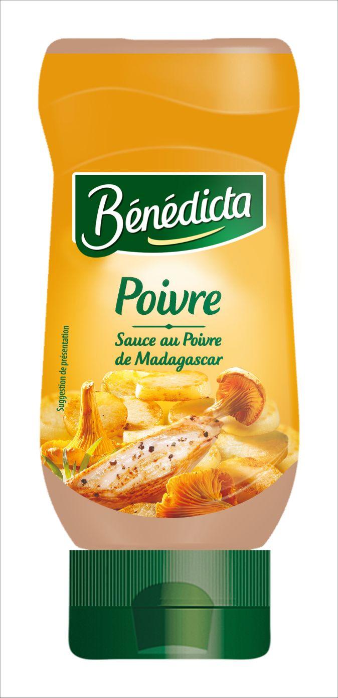 Bénédicta Sauce de variété Poivre de Madagascar 235g Flacon Souple image