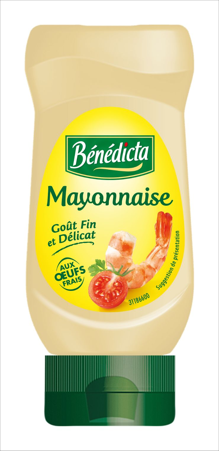 Bénédicta Mayonnaise Nature 235g Flacon Souple image