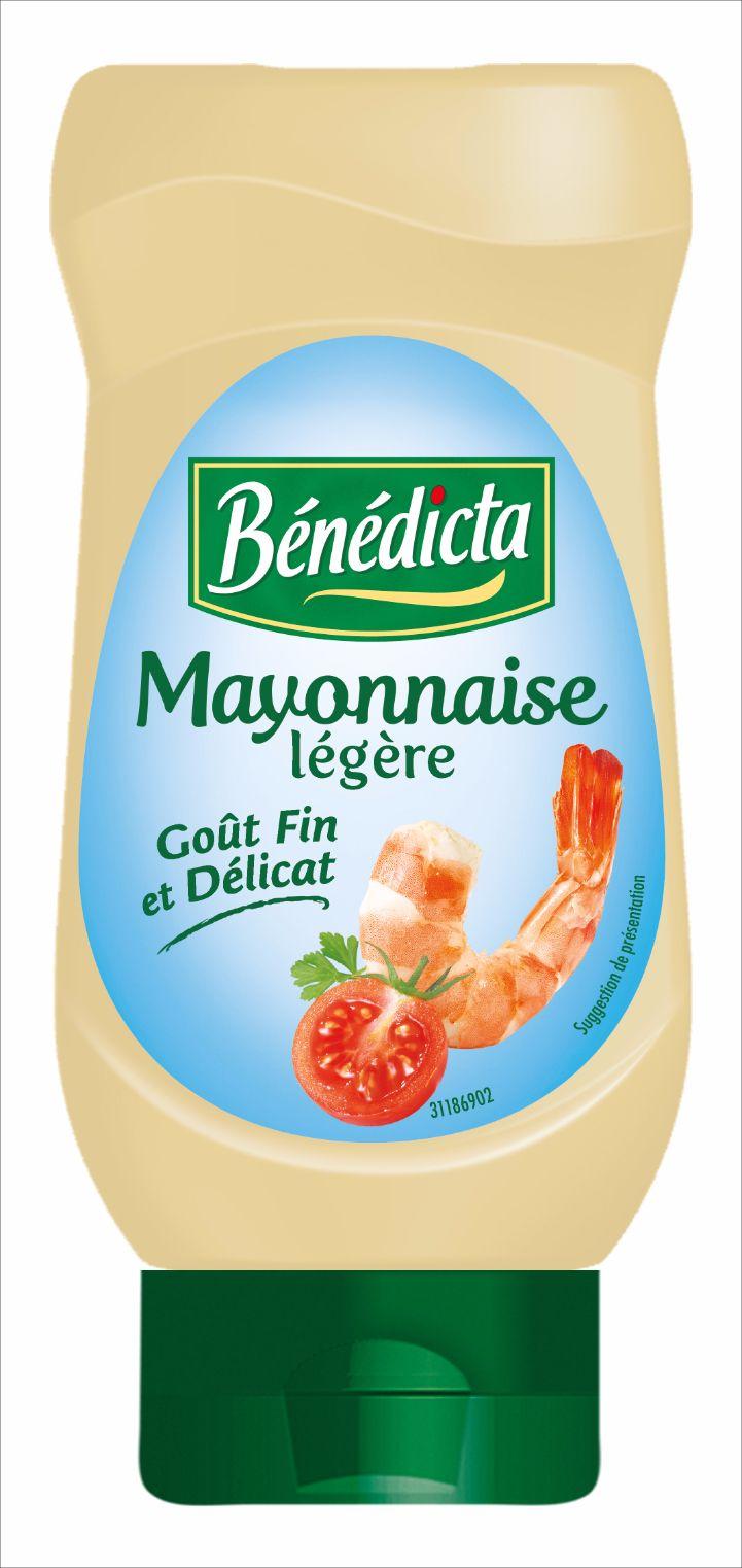 Bénédicta Mayonnaise Légère 400ml Flacon Souple image