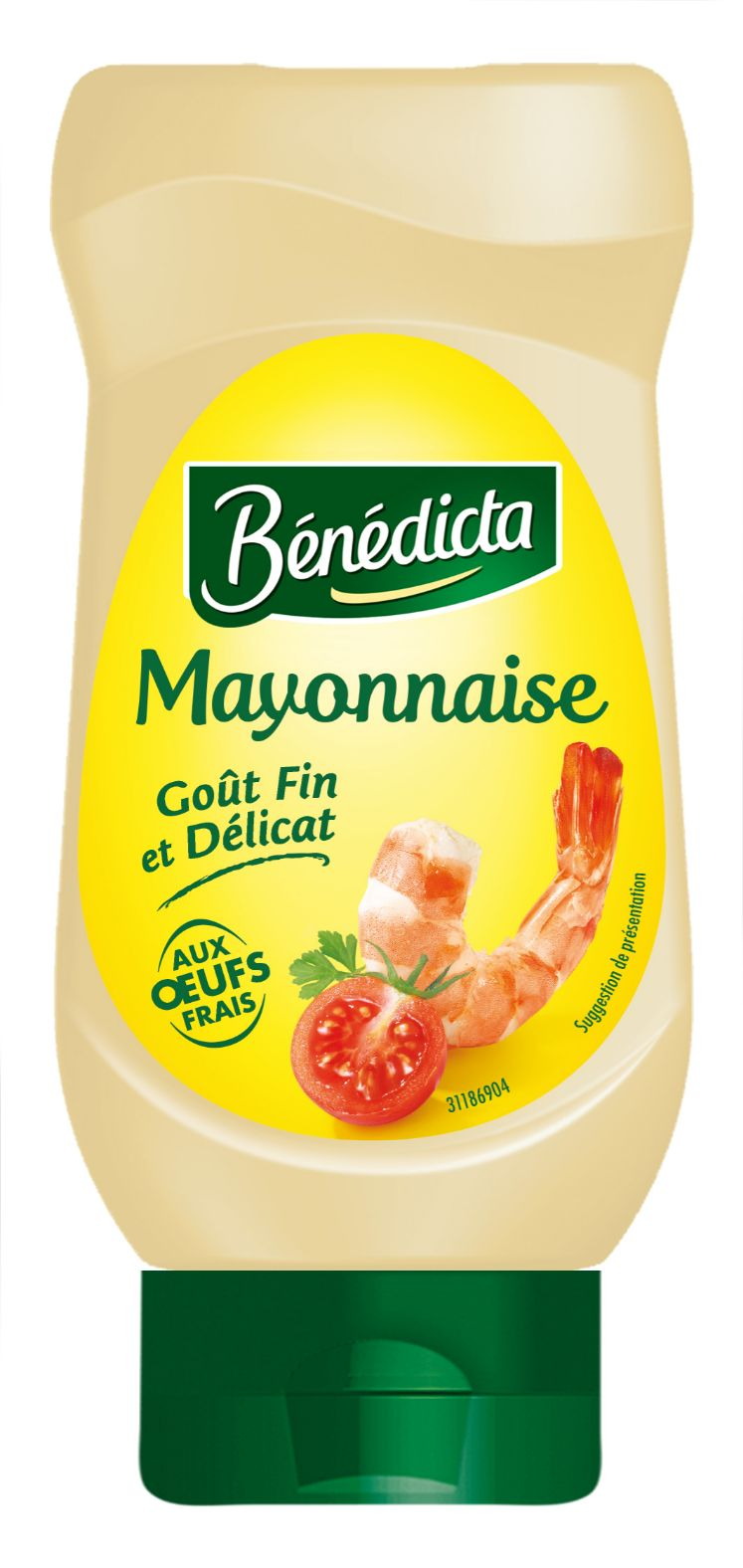 Bénédicta Mayonnaise Nature 400ml Flacon Souple image