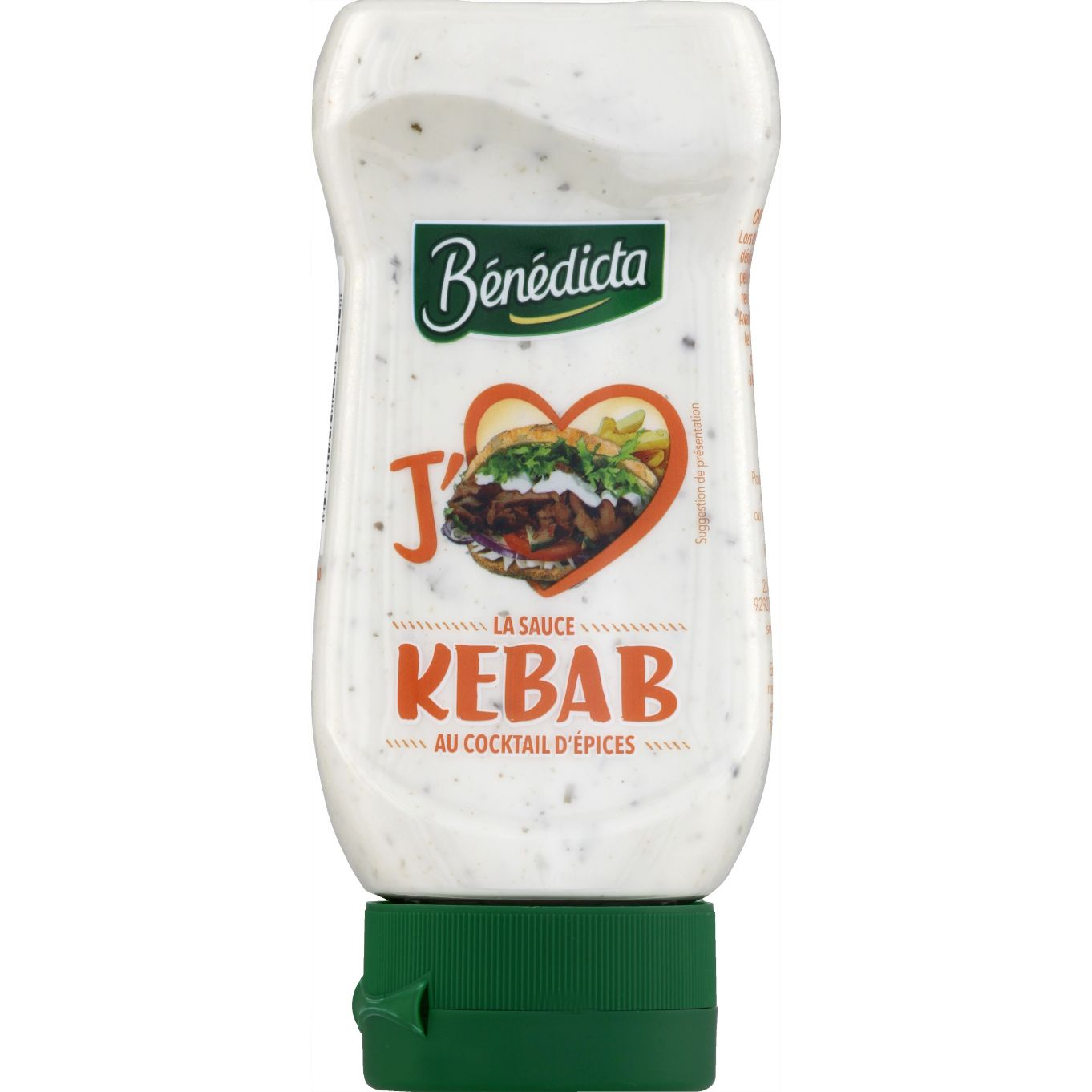 Bénédicta Sauce Royal kebab flacon 400ml Flacon Souple image