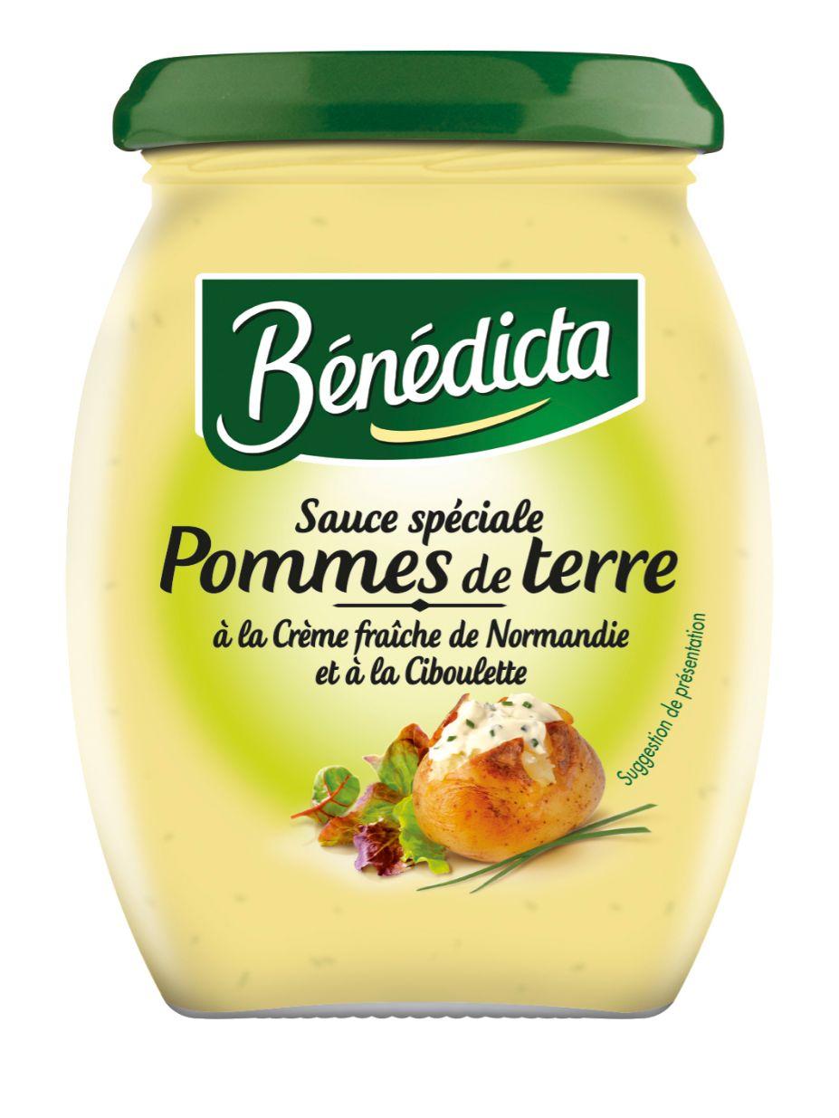 Bénédicta Sauce Spéciale Pommes de terre à la crème fraiche de Normandie et ciboulette 260g Bocal image