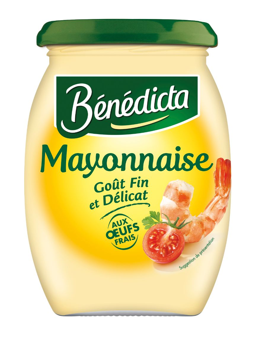 Bénédicta Mayonnaise Nature 510g Bocal image