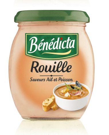 Bénédicta Sauce de variété Rouille 260g Bocal image
