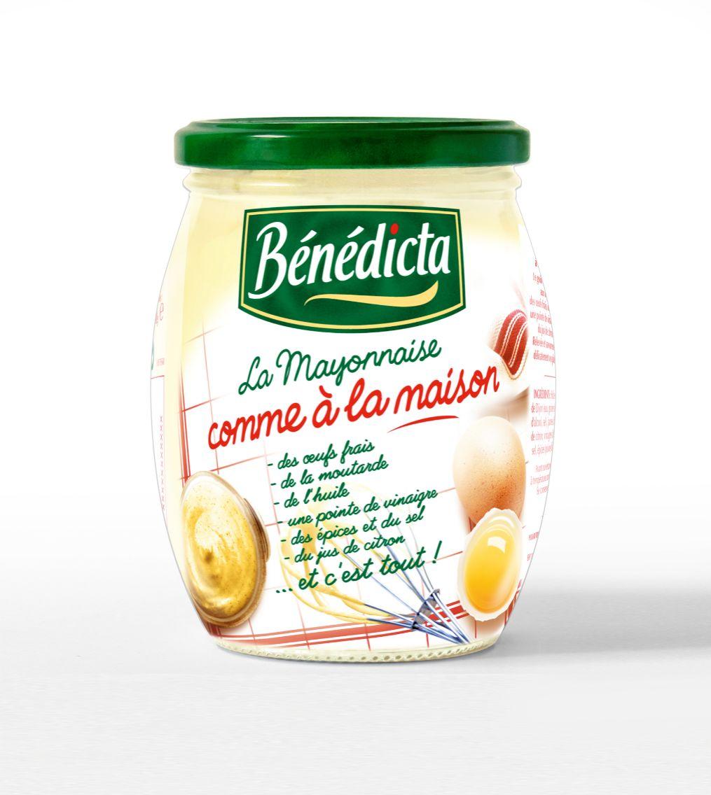 Bénédicta Mayonnaise Comme à la Maison 255g Bocal image