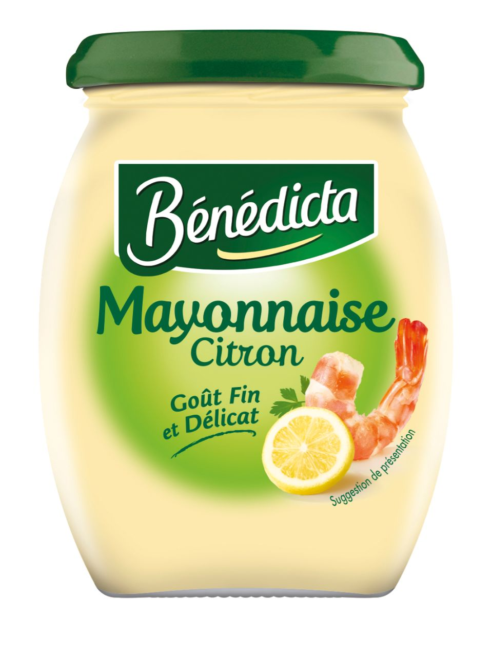 Bénédicta Mayonnaise au citron 255g Bocal image
