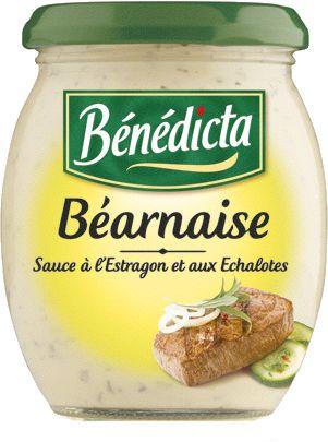 Bénédicta Sauce de variété Béarnaise 260g Bocal image