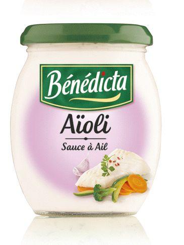 Bénédicta Sauce de variété Aïoli 260g Bocal image