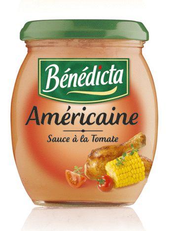 Bénédicta Sauce de variété Américaine 260g Bocal image