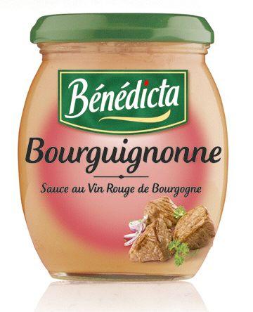 Bénédicta Sauce de variété Bourguignonne 260g Bocal image