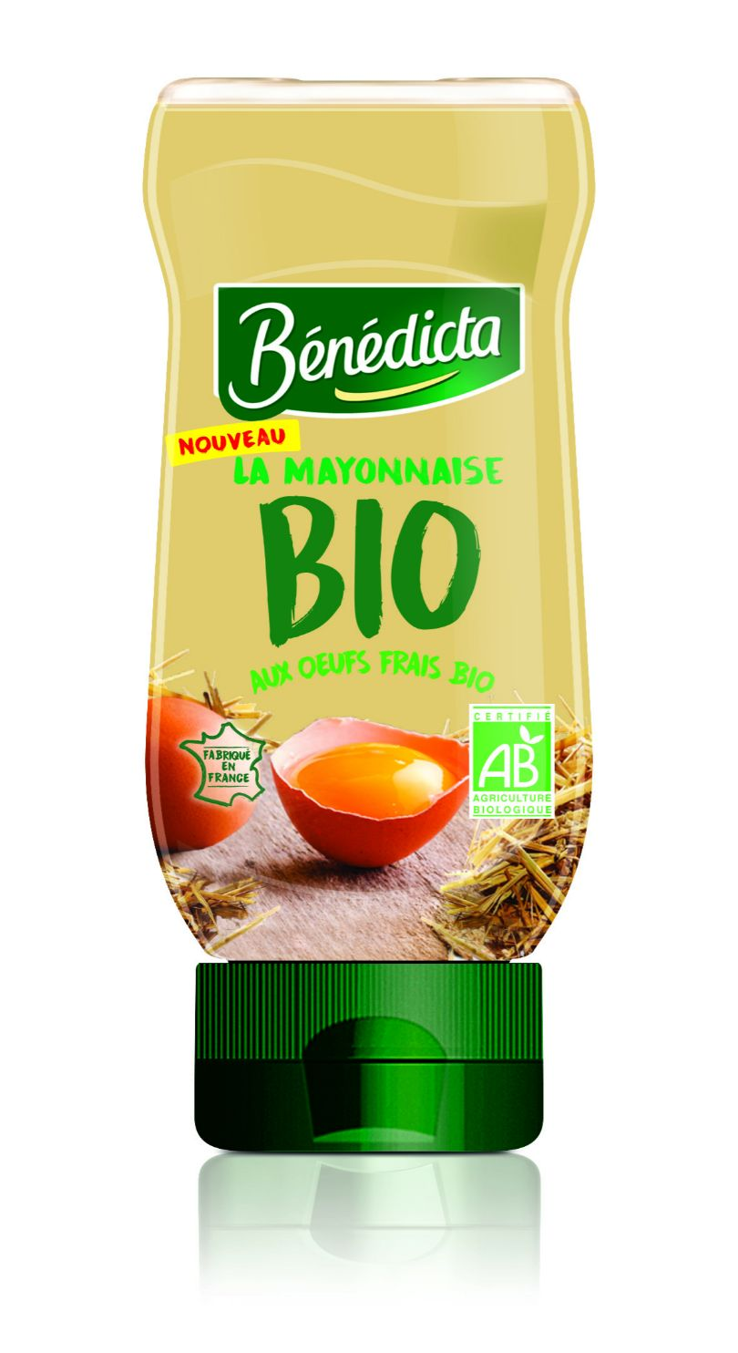 Bénédicta Mayonnaise Bio 235g Flacon Souple image