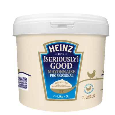 Heinz Mayonnaise Seriously Good 5L Seau image