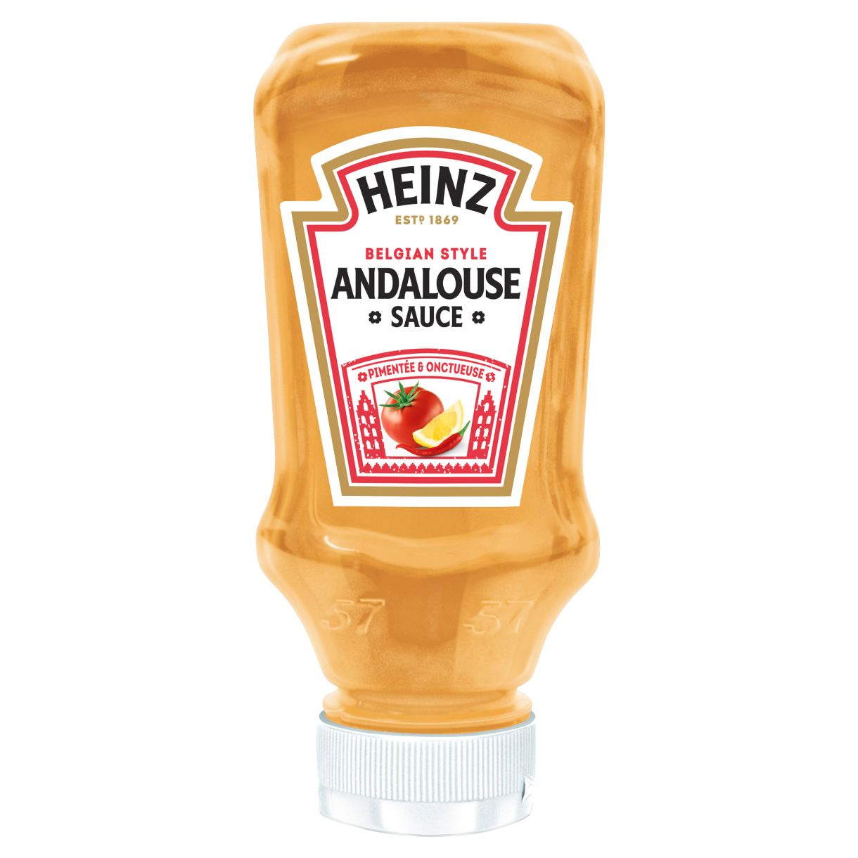 Heinz Sauce Andalouse 220ml Flacon Souple Top Down image