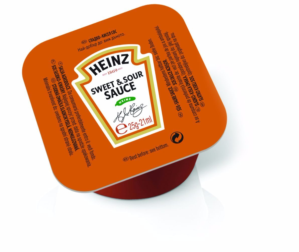 Heinz Sweet & Sour 25g Coupelle image