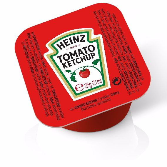 Heinz Ketchup 25g Coupelle image