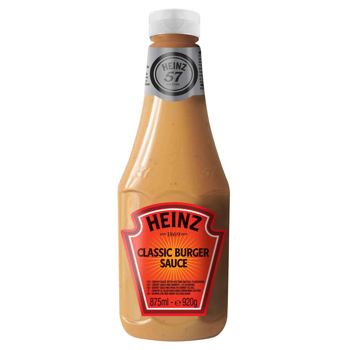 Heinz Classic Burger 875ml Flacon Souple Top Up image