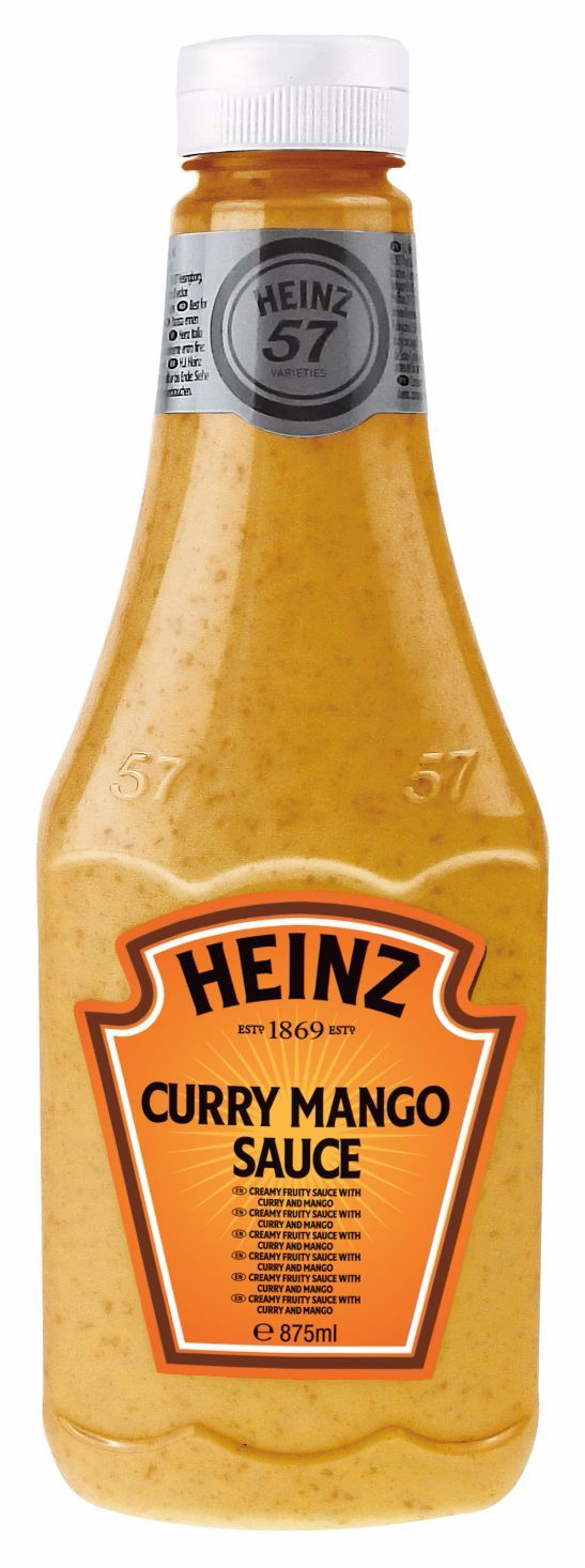 Heinz Curry Mango Sauce 875ml Flacon Souple Top Up image