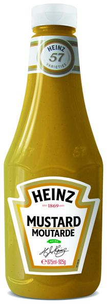 Heinz Mustard 875ml Flacon Souple Top Up image