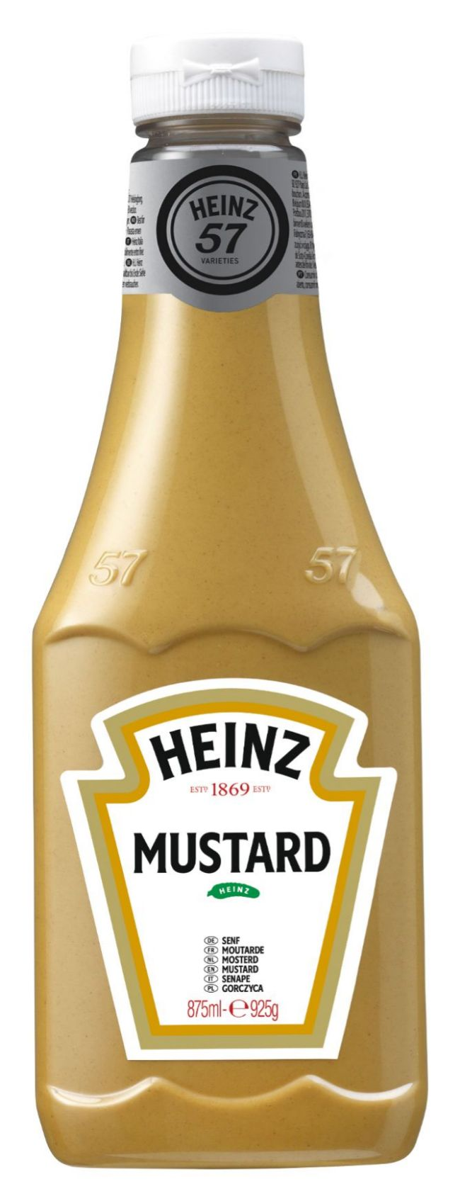 Heinz Yellow mustard classic 875ml Flacon Souple Top Up image