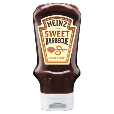 Heinz Barbecue Sweet 400ml Flacon Souple Top Down image