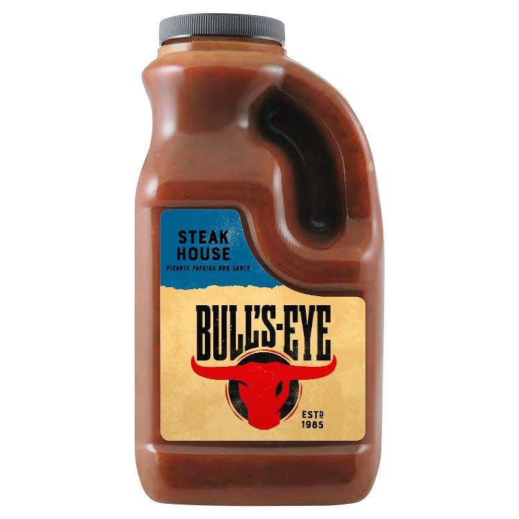 Bull's Eye Sauce Barbecue Steakhouse 2L Bidon image