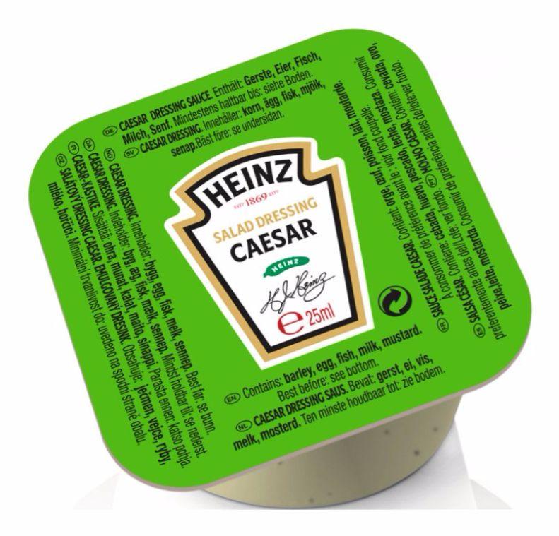 Heinz Sauce Salade Caesar 25g Coupelle image