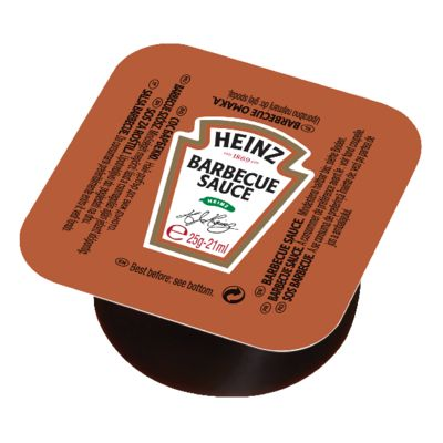 Heinz Barbecue 25g Coupelle image