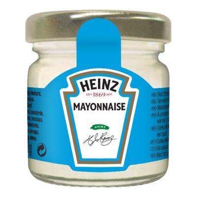 Heinz Mayonnaise 33ml Mini Pot Verre image