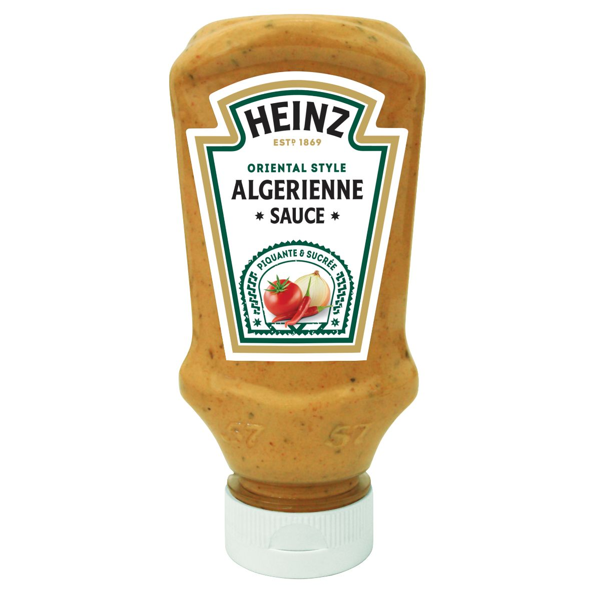 Heinz Sauce Algérienne 220ml Flacon Souple Top Down image