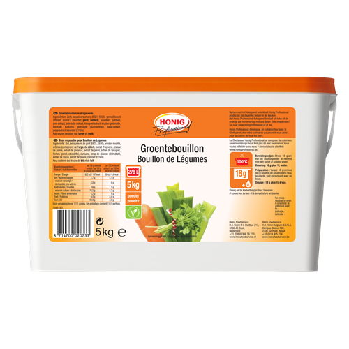 Honig For Professional Vegetarische Bouillon 5Kg image